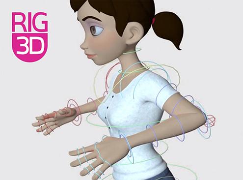 3D Rigging personaje