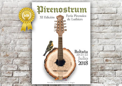 Cartel Pirenostrum 2018