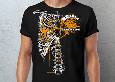 Camiseta Orange Attraction