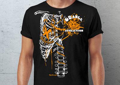 Camiseta Orange Attraction