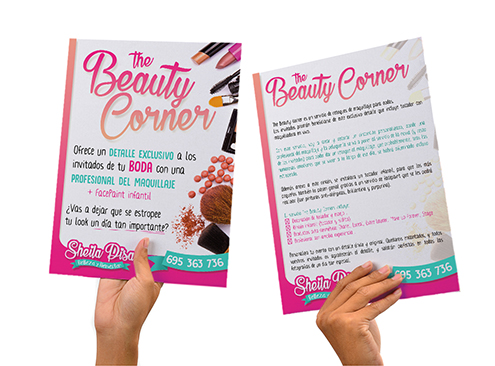 Publicidad Beauty corner