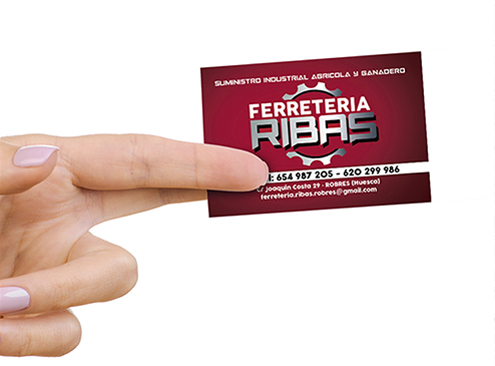 Tarjeta Ferretería Ribas