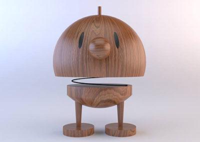 3D Personaje de madera