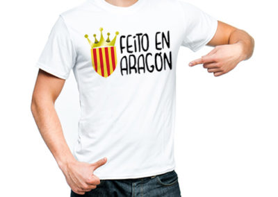 Camiseta Feito en Aragón