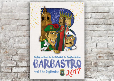 Cartel Barbastro 2017