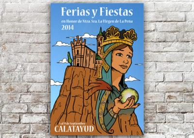 Cartel Calatayud 2014