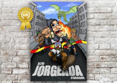 Cartel Jorgeada 2015