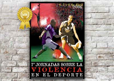 Cartel Jornadas contra la Violencia 2006