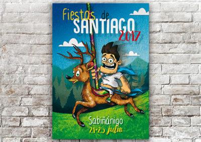 Cartel Sabiñánigo 2017