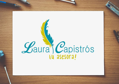 Logo Laura Capistrós, tu asesora