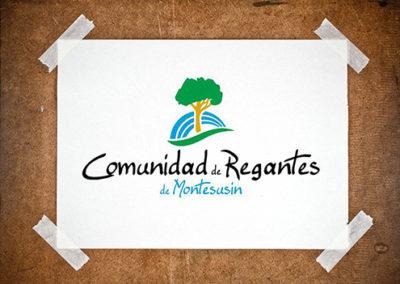 Logo Regantes de Montesusín