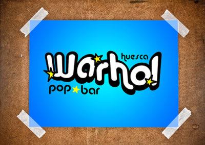 Logo Warhol Pop Bar