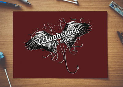 Logo Woodstock Café Rock