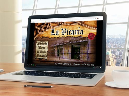 Web Bar La Vicaría